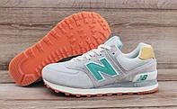 Детские, подростковые  кроссовки New Balance 574 Grey
