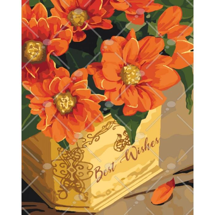 Картина по номерам Best wishes, 40x50 см., Идейка