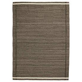 IKEA HOJET (603.820.44) Килим тканий плоский, коричневий