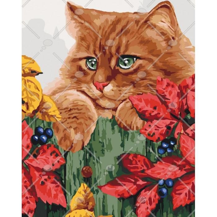 Картина по номерам Руде щастя, 40x50 см., Идейка