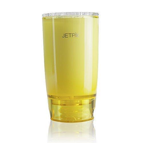 Стакан с системой подачи воды желтый Jetpik