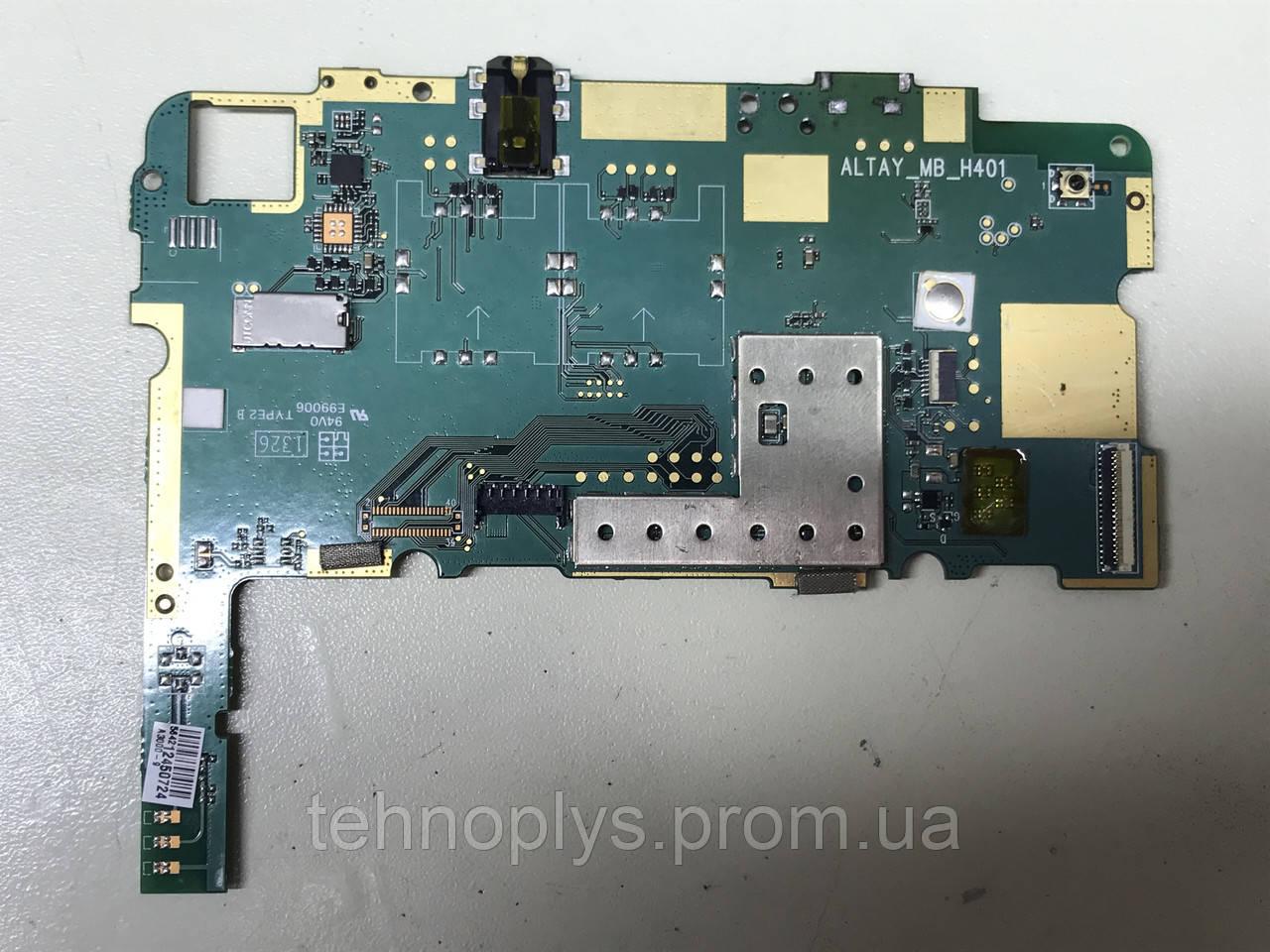 Плата Lenovo A3000-H на микросхемы рабочая с дефектом