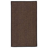 IKEA OSTED (602.703.05) Ковер тканый плоский, коричневый