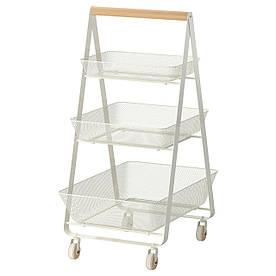 IKEA RISATORP (202.816.31) Візок, біла