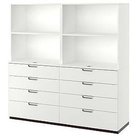 IKEA GALANT (891.848.83) Шкаф для документов, серый
