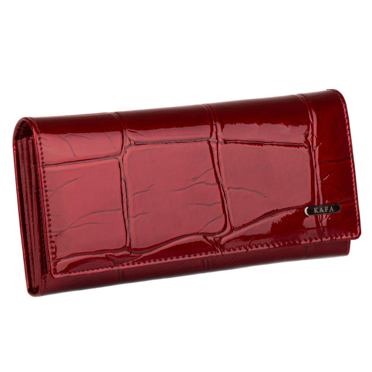 832e3749cf36 Кошелек женский кожаный Kafa RFID BE501 красный: продажа, цена в ...