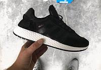 Кроссовки Adidas Iniki Runner 'Core Black'. Живое фото. Топ качество! (Реплика ААА+)