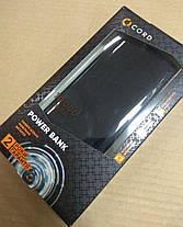 УМБ Power Bank Cord A17 10000mAh Black Гарантия 12 месяцев, фото 3