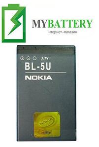 Оригинальный аккумулятор АКБ батарея для Nokia 3120/ 5250/ 5330/ 5730/ 6212/ 6216/ BL-5U 1000мAh 3.7V