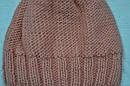 Зимняя шапка с балабоном для девочки персиковая (AJS, Польша), фото 3