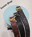 Ремни кожаные люксовая реплика Louis Vuitton, фото 9