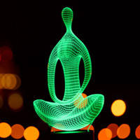 3D светильники и сменные изображения