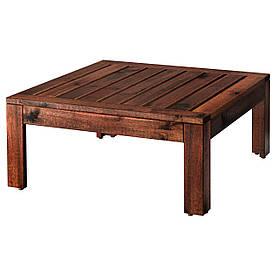 IKEA APPLARO (802.134.46) Стіл/стілець, сад, коричневий колір коричневий