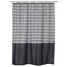 IKEA VADSJON (103.490.66) Фіранки для душу, темно-сірий