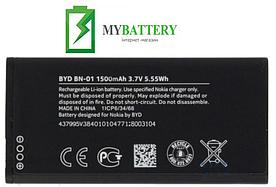 Оригинальный аккумулятор АКБ батарея для Nokia X Dual SIM/ BN-01 1500мAh 3.7V
