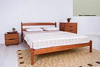 Кровать полуторная деревянная Ликерия без изножья 120х200, цвет слоновая кость