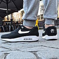 Кроссовки Nike Air Max 87 black. Живое фото. Топ качество! (Реплика ААА+)