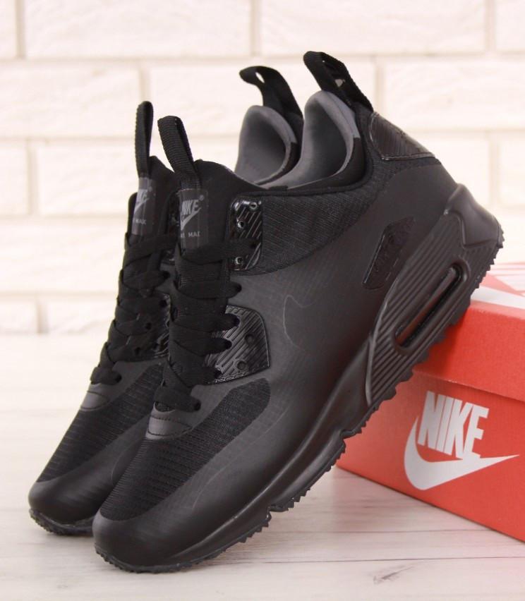 cbcb95b403af97 Кроссовки Nike Air Max 90 Mid Winter Black. Топ Качество! Живое фото ...
