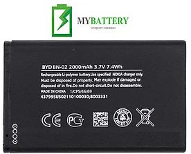 Оригинальный аккумулятор АКБ батарея для Nokia XL Dual Sim RM-1030/ RM-1042/ BN-02 2000мAh 3.7V