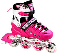 Ролики Scale Sport. Pink. 29-33, 34-37,38-41, фото 1