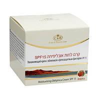 Увлажняющий дневной облепиховый крем с SPF-15 Care & Beauty Line