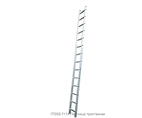 Лестница приставная ITOSS 7114