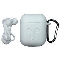 Чехол-накладка силикон DK Candy Mold Cord для Apple AirPods (white)