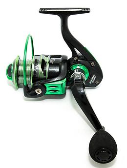 Катушка Bratfishing UTECATE KURO Green 2000 FD / 10+1 BB / ALUMINUM spool