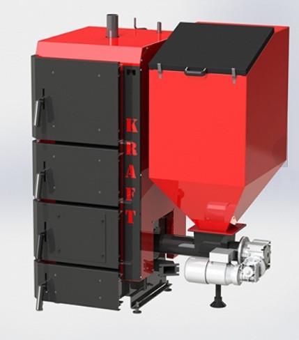 Пеллетный котел Kraft серия R 40 кВт (Крафт )