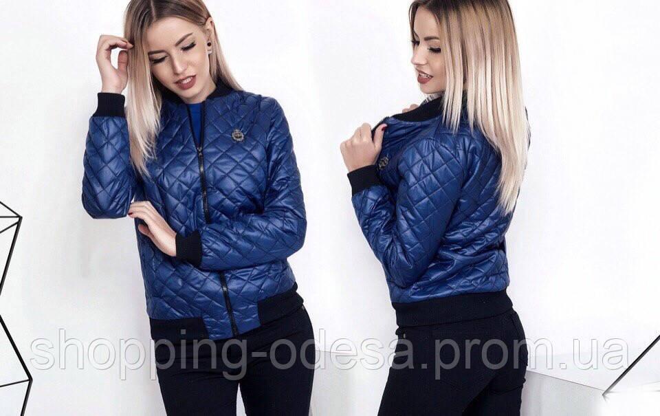 65582299bad Короткая модная женская куртка весна   осень синтепон 100  продажа ...