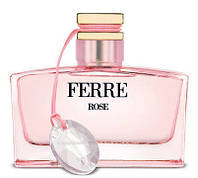 Женские оригинальные духи Ferré Rose 100ml edt (женственный, нежный, чарующий, утончённый, изысканный)