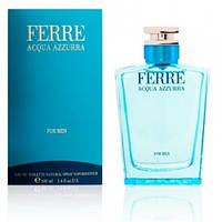 Мужской парфюм Ferré Acqua Azzurra Men 100ml edt (сильный, роскошный, загадочный, мужественный)
