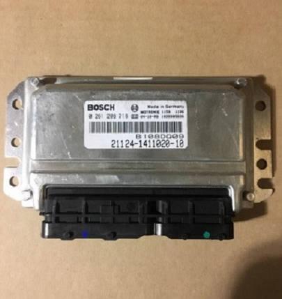 Электронный блок управления ЭБУ BOSCH 21124-1411020-10, фото 2
