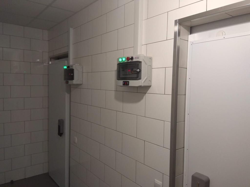 Холодильные камеры в ресторан