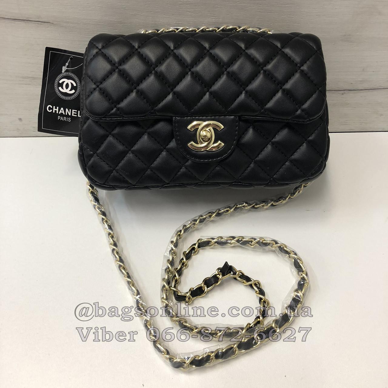d9cb72a1965c Сумка в стиле Шанель / клатч реплика Chanel Черный - BagsOnline - твоя  идеальная сумочка в