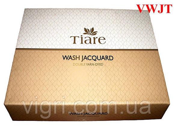 Постільна білизна сатин Wash Jacquard Tiare, тм. Вилюта VWJT 14, фото 2