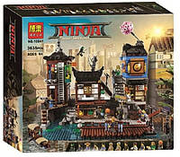 "Конструктор Bela 10941 Ninja ""Порт НИНДЗЯГО Сити"" (Аналог LEGO Ninjago 70657) 3635 деталей"