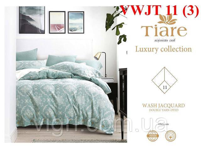 Постельное белье сатин Wash Jacquard Tiare,тм. Вилюта VWJT 11
