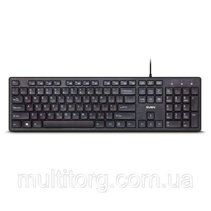 Клавиатура SVEN KB-E5800 черная (замена Elegance 5800)
