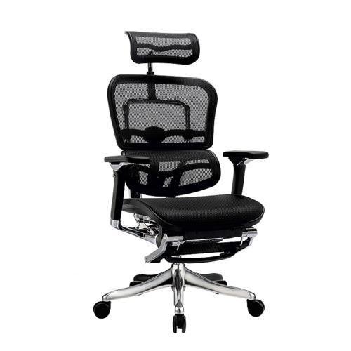 Кресло эргономическое компьютерное ERGOHUMAN PLUS COMFORT SEATING c подставкой для ног