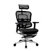 Кресло эргономическое компьютерное ERGOHUMAN PLUS COMFORT SEATING c подставкой для ног, фото 1
