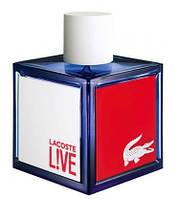 Lacoste Live 100ml edt (бодрящий, стильный, освежающий, динамичный аромат)