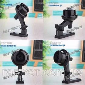 Wi-Fi мини видеоняня Escam Button Q6 IP камера видеонаблюдения. IP камера внутренняя ESCAM Q6