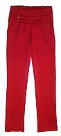Детские  красные брюки  (р 122-140)