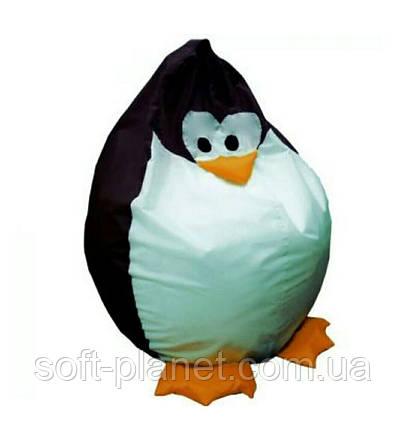 """Кресло-мешок """"Пингвин Черный"""""""