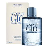 Giorgio Armani Acqua di Gio Blue Edition 100ml edt (Бурлящий, освежающий аромат для настоящих мужчин)