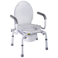 Кресло-туалет Nova с откидными подлокотниками, арт. A8900AD