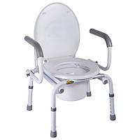 Крісло-туалет Nova з відкидними підлокітниками, арт. A8900AD