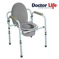 Стілець туалетний зі спинкою Dr.Life 10595