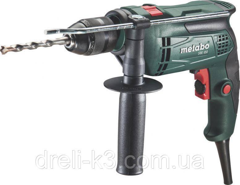 Ударная дрель Metabo SBE 650 Mobile Workshop 600671870